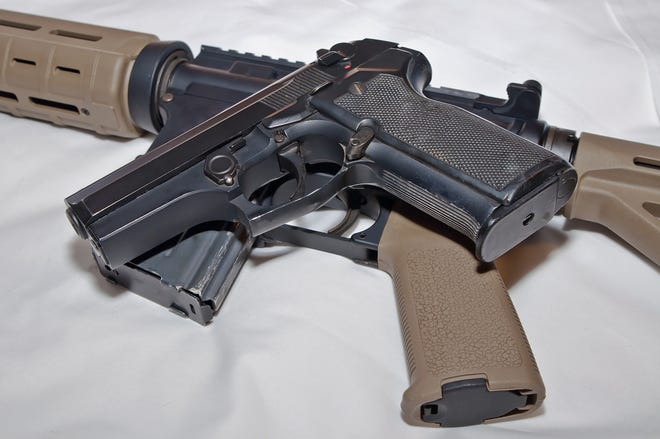 Bills before the General Assembly would keep guns out of schools, prohibit the open carry of loaded rifles and shotguns in public, and fight gun trafficking by prohibiting straw purchasing.