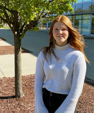 Gabriella Knauf is a Canton Repository Stark State College Teen of the Month for April.