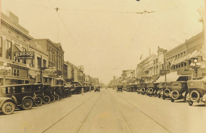 A photograph of downtown Salina from the early 1900s will be on display in The Crossroads exhibit at Smoky Hill Musuem that will be open starting Friday, April 30.