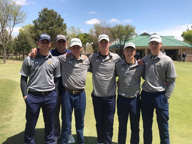 The Stephenville High School boys golf team wrapped up its season at the Regional Tournament held Wednesday and Thursday in Lubbock. Round two results are: Tyler Heller, 76; Hunter Rudloff, 78; Grayson Traweek, 79; Landon Toof, 86; and Brady Morton, 100. The team's total for Day Two was 319; and the two-day total was 631. Congrats on a great season!