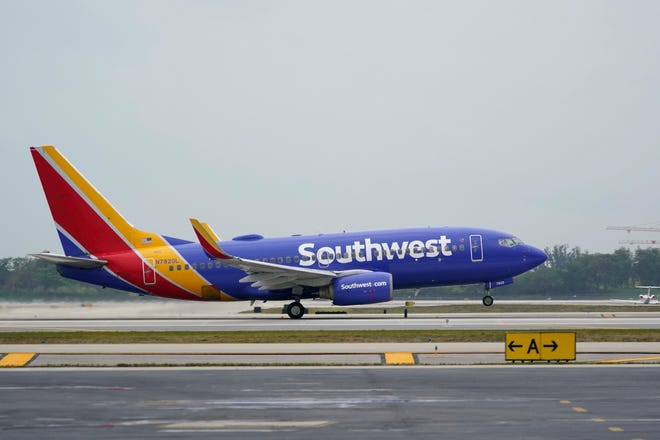 Southwest says bookings for leisure trips within the United States have been improving each week since mid-February.