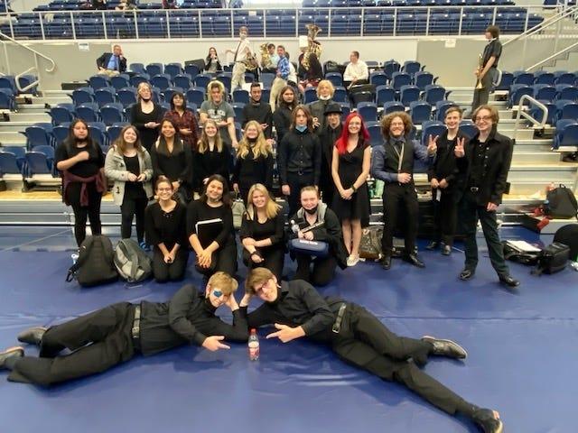Shawnee High School Band.