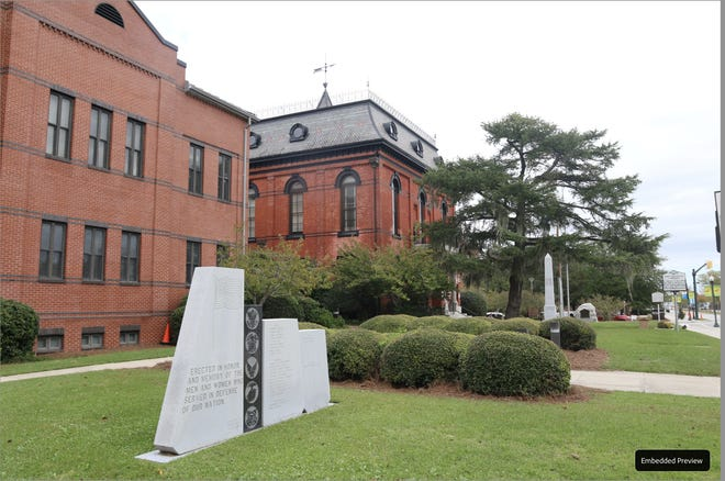 Craven County Community Bail Fund has been formed to bail out low-level misdemeanor inmates who cannot afford their bond; meanwhile the organization is calling for an end of bonding by the county's justice system. Pictured: Craven County Court House