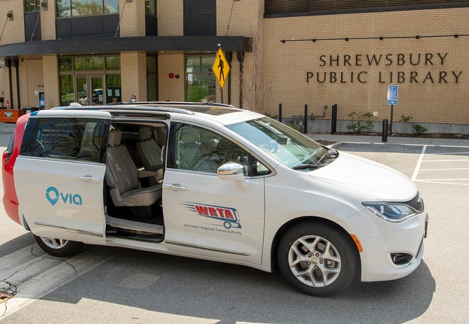 The Worcester Regional Transit Authority has expanded its on-demand public transportation network into Shrewsbury.