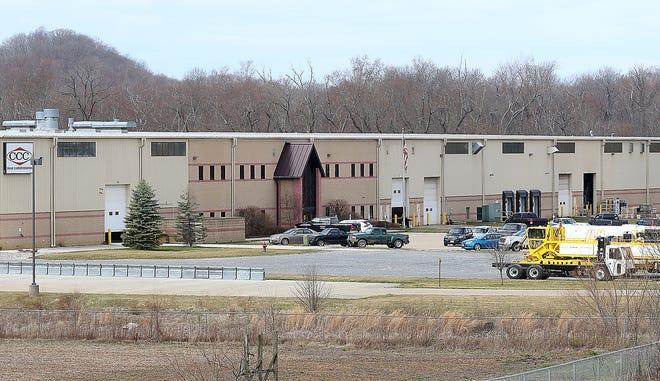 The Crane Carrier Co.  building near U.S. Route 250 in New Philadelphia. (TimesReporter.com / Jim Cummings)