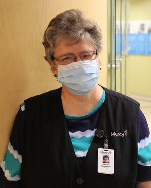 Becky Brotherton has been volunteering at Mercy Fort Smith since 1981.