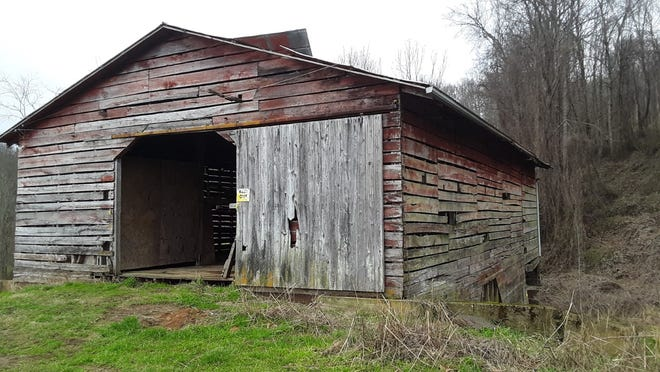 The Appalachian Barn Alliance is now working in a partnership with the town of Mars Hill to develop the newly-acquired Smith Farm property on the Bailey Mountain Preserve, pictured here, to showcase southern Appalachian-style barns.