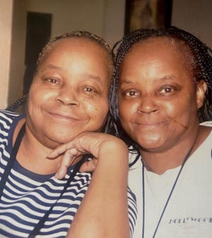 Barbara King, left, and Marilyn King, were sisters born 11 months apart in July 1955 and June 1954, respectively. They died four days apart of COVID-19 in March 2021. Marilyn King's daughter, Marion King, a licensed practical nurse for the Henry Ford Health System, said it took losing them to convince her to take the coronavirus vaccine. She buried her mother and her aunt on March 20 and got her first dose of a vaccine on March 23.