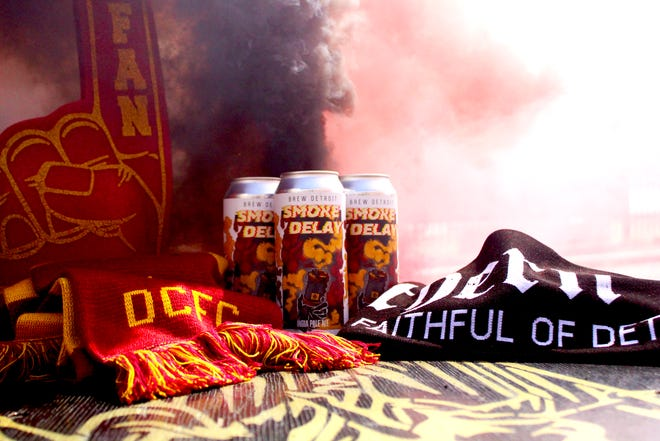 Smoke Delay IPA, the new Detroit City FC beer by Brew Detroit.