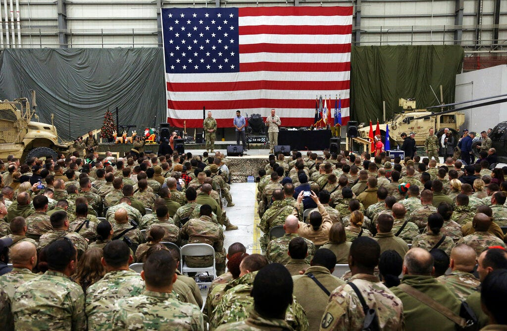 General: Afghan military will collapse without some US help 1