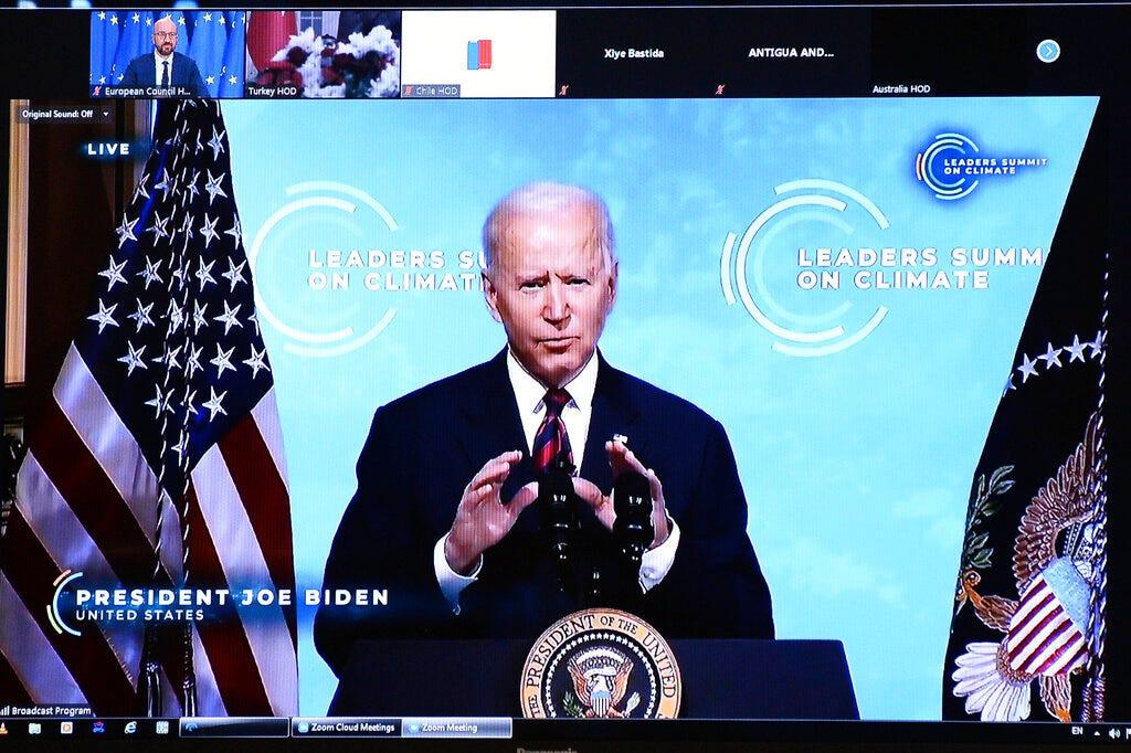 Biden's $5.7 billion climate vow to developing world draws ire 1