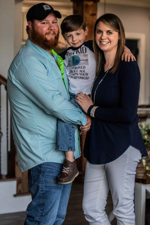 Katelyn and Andrew Kelly, in 2014 started trying to get pregnant, however two years later they were both diagnosed with infertility. They decided to raise funds and started in vitro fertilization (IVF). In 2016, they successfully conceived John Michael, 4.