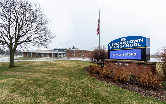 At Germantown High School, a student sent other students a racist video clip with a man shouting n----- whille wearing a Burger King crown on a JetBlue flight in October.  Four students wore paper Burger King crowns to school on Monday, April 19.
