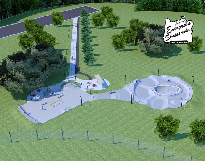 The Oconomowoc skatepark is expected to open in September.