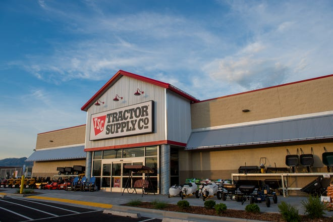 A Tractor Supply storefront