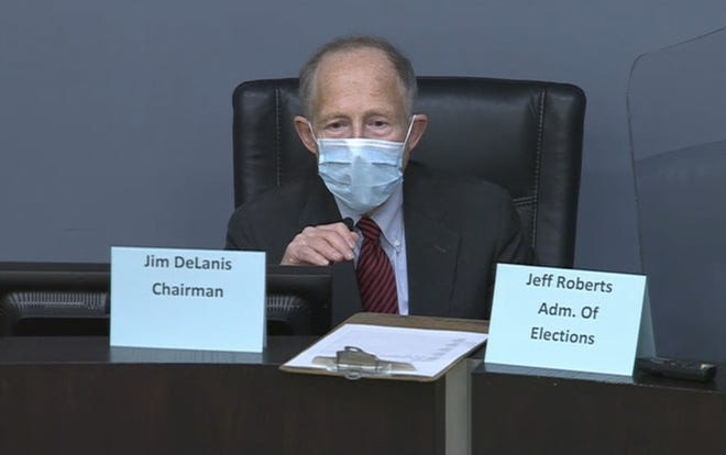 Davidson County Election Chair Jim DeLanis
