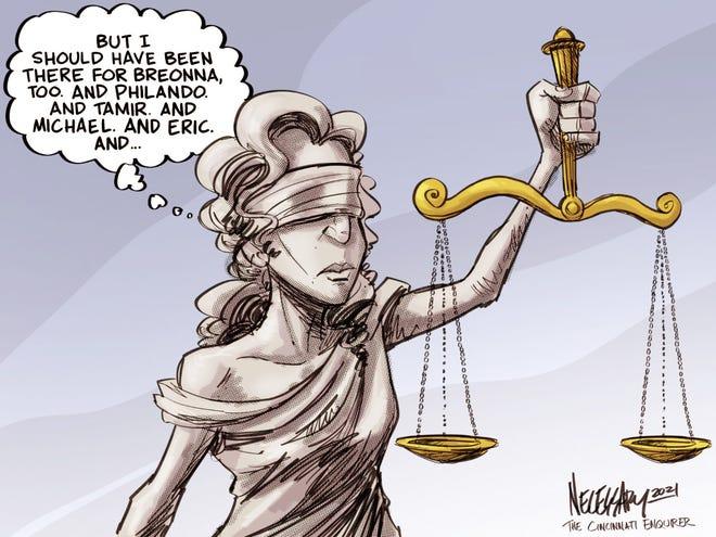 Lady Liberty's regrets.