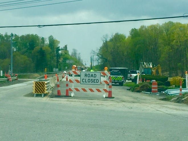 In mid-May, ODOT will flip northbound Ohio 37 traffic to the new west side of the bridge which remains under construction.