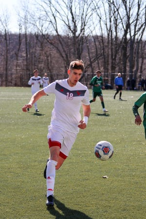 Montclair State senior defender Stefan Koroman, a Wayne Hills graduate, will be playing with Morris Elite this summer.