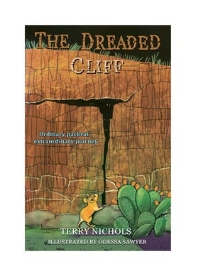 """Author Terry Nichols will be signing copies of her debut novel """"The Dreaded Cliff"""" on April 24 at Amy's Bookcase in Farmington."""