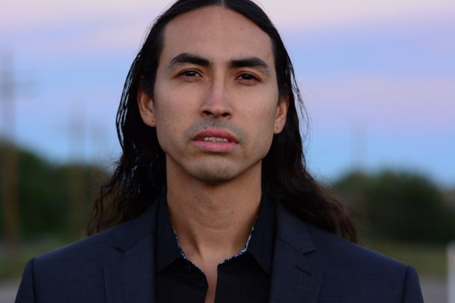 """Actor and comedian Tatanka Means, who was born in Chinle, stars in upcoming film """"Killers of the Flower Moon."""""""