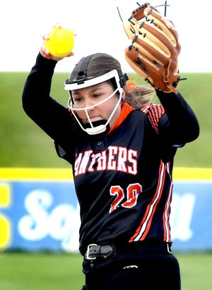 Central York's Ava Beamesderfer is the York-Adams League Division I Pitcher of the Year.