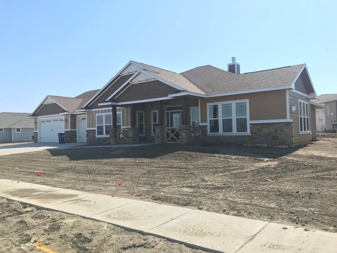 New home construction at 8613 W. Dockside Drive.