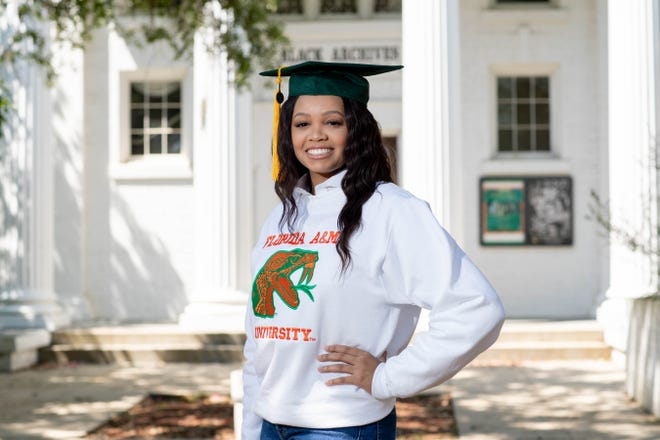 Florida A&M University honors biology student Kimberly Williams