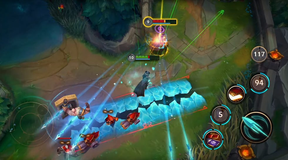 """The mobile game """"League of Legends: Wild Rift"""" for iPhone and Android, builds on Riot Games' rich franchise, launched in 2009."""