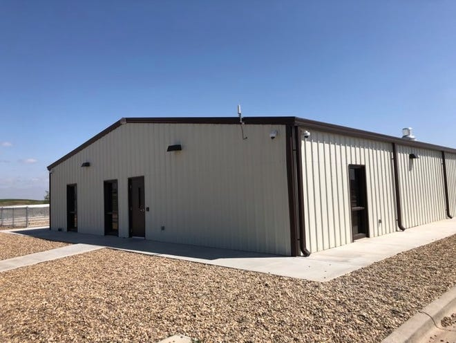 The exterior of the city of Amarillo's new Animal Management & Welfare facility.
