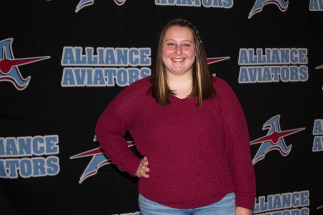 Taylor Boschini of Alliance High School is The Alliance Review's BAM Metals Teen of the Month for April.