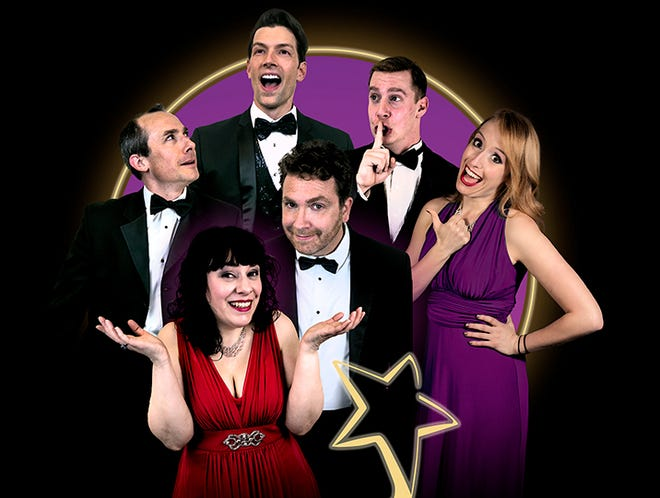 """Hilarious improv performance """"Broadway's Next Hit Musical"""" at The Goddard Center on Thursday, May 20th at 7:30 p.m."""