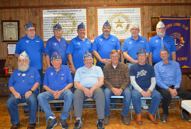 Members of the Unit are pictured front from the left: Jim Watts, Gene Lockard, Jerry Smith, Bob Hazzard, John Smith, Gary Davis. Back: Shane Hammond, Gale Roosa, John Blumer, Bill Nebergall, Wally Hammond andJerry Surrells.