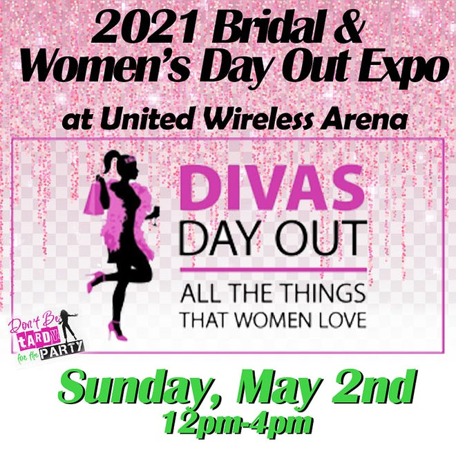 """Returning to United Wireless Arena will be the annual Bridal & Women's Day Out Expo set for May 2 from noon to 4 p.m. The theme of this year's event is """"Diva's Day Out"""" which will feature everything needed to plan the perfect wedding with multiple vendors such as florists, decorators, a bridal fashion-show, venue tours of the Boot Hill Casino & Resort Conference Center, catering samples and more. For those not in the wedding season, there will also be shopping, relaxation, champagne margaritas and door-prizes given every hour. The event will be open to the public and admission is free. Brides-to-be will also have a chance to win a special swag-bag."""