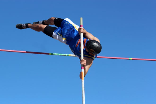 Langdon/Edmore/Munich, North Star, Benson County, Nelson County and Devils Lake track and field teams competed in the Langdon Invitational on April 22 at Langdon Area High School.