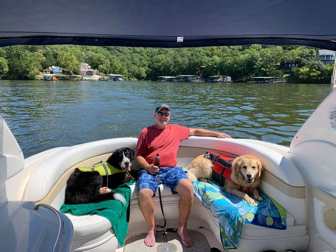 Omaha resident Raymond Perry II grew up boating on the Missouri River. Now the family can be found in their 30-foot Carver on Lake of the Ozarks.