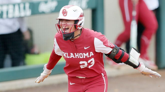 Oklahoma's Tiare Jennings, named one of 10 finalists for the USA Softball Collegiate Player of the Year earlier this week, was playing for the Batbusters only a year ago. The youth softball program has nine alumni on the current OU roster.