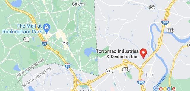 Torromeo Industries quarry in Kingston, New Hampshire