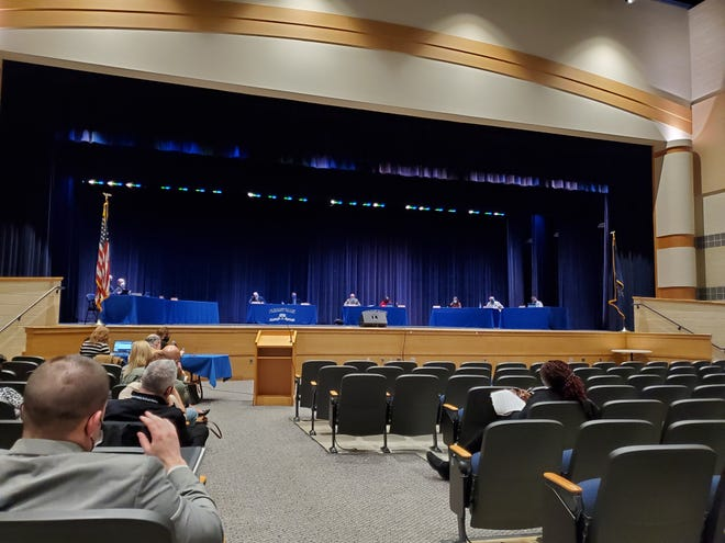Pleasant Valley School District Board meeting on April 22, 2020 , passed a resolution proposing furloughs