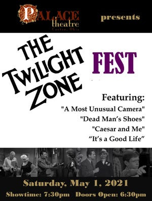 """A 'Twilight Zone"""" fest will be May 1 at the Canton Palace Theatre."""