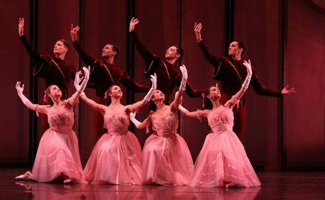 "The Sarasota Ballet performs Frederick Ashton's ""Vales Nobles et Sentimentales"" in a digital program."
