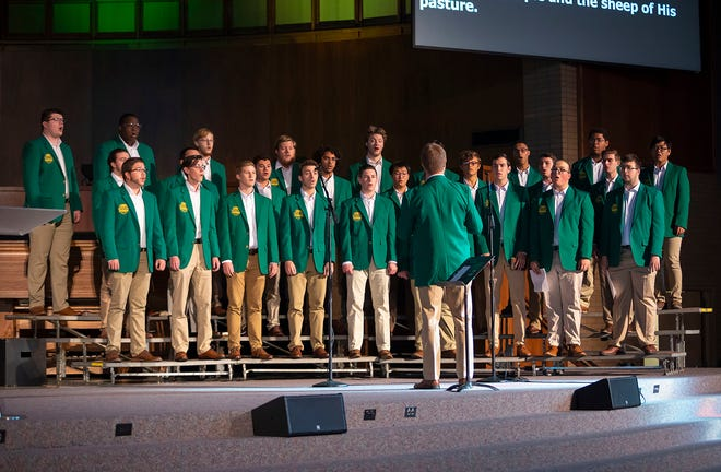 The Bison Glee Club in 2019.