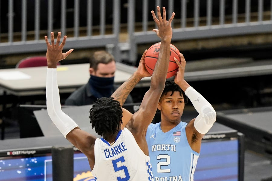 UNC's Caleb Love joins outpouring after death of Kentucky guard, NBA prospect Terrence Clarke