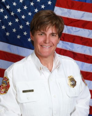 Pueblo Fire Chief Barb Huber