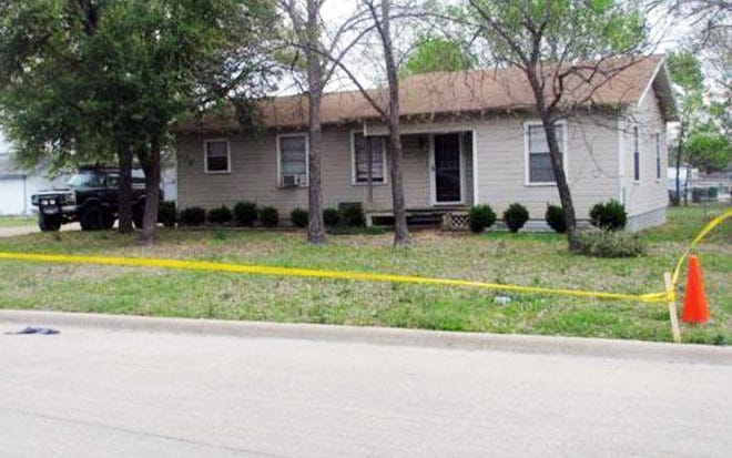 This house on South Church Street in Ferris was the scene of a gruesome double murder in March 2009. To date, this case remains unsolved, one of several unsolved murders that have taken place in Ellis County.