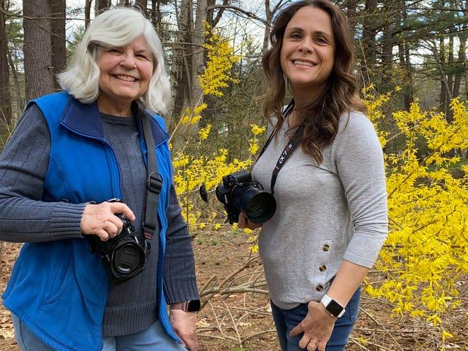 Ann DeCristofaro, left, and Elaine Freitas.