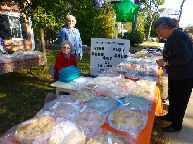 The Acton Woman's Club holds a (pre-pandemic) bake sale.