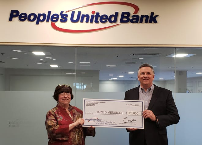 Care Dimensions received a $25,000 grant from The People's United Community Foundation of Eastern Massachusetts