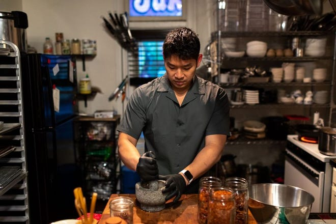 Detroit Chef Jonathan Kung.