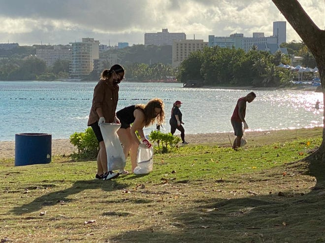 In honor of Earth Day, Coral Sea Real Estate completed our coastal cleanup on April 17 at Ypao Beach in Tumon.